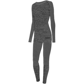 Viking Europe Petra Bamboo Ondergoed Set Dames, dark grey